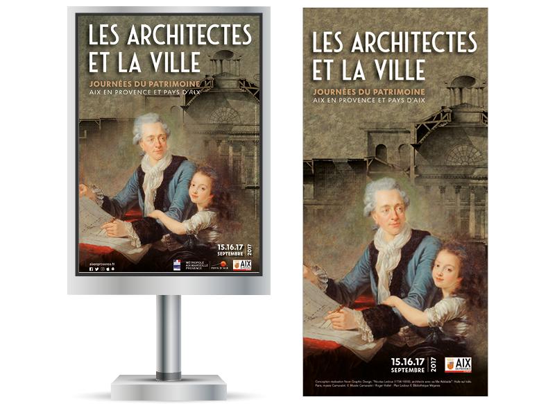 Journees du Patrimoine Aix en Provence 2017 by NoonGraphicDesign