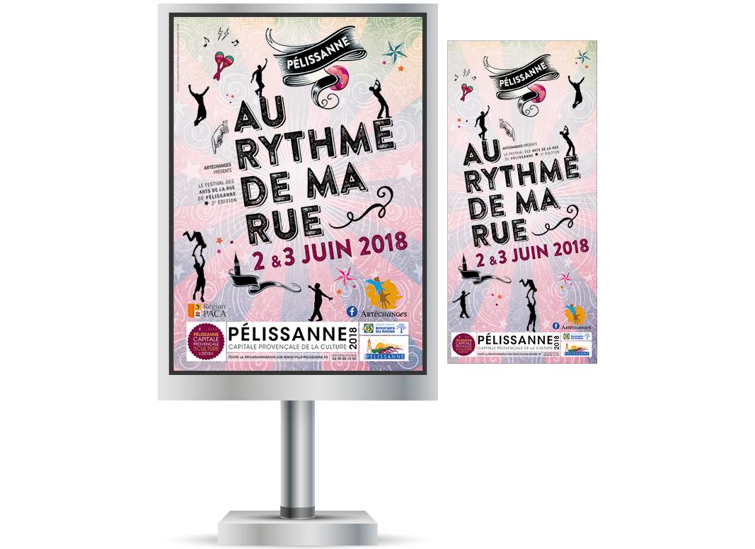 Au Rythme De Ma Rue 2018 by Noon Graphic Design
