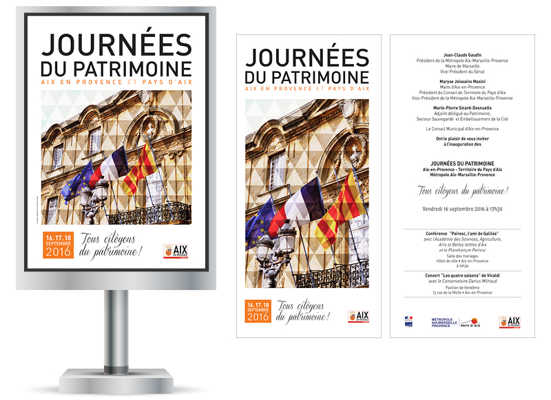 Journees du Patrimoine Aix en Provence 2016 by NoonGraphicDesign