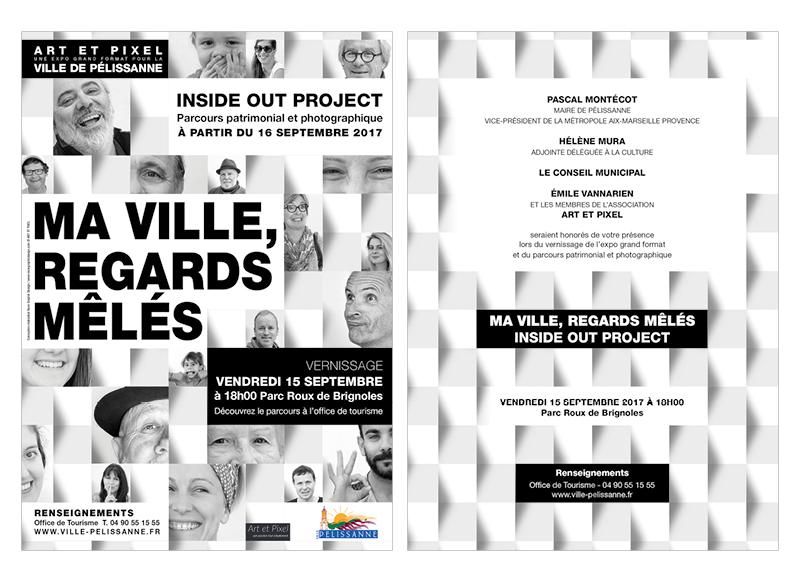 Regards Mêlés 2017 Pélissanne by Noon Graphic Design