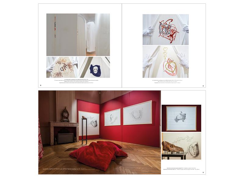 Catalogue Lahoz Exposition au Pavillon De Vendome bu Noon Graphic Design