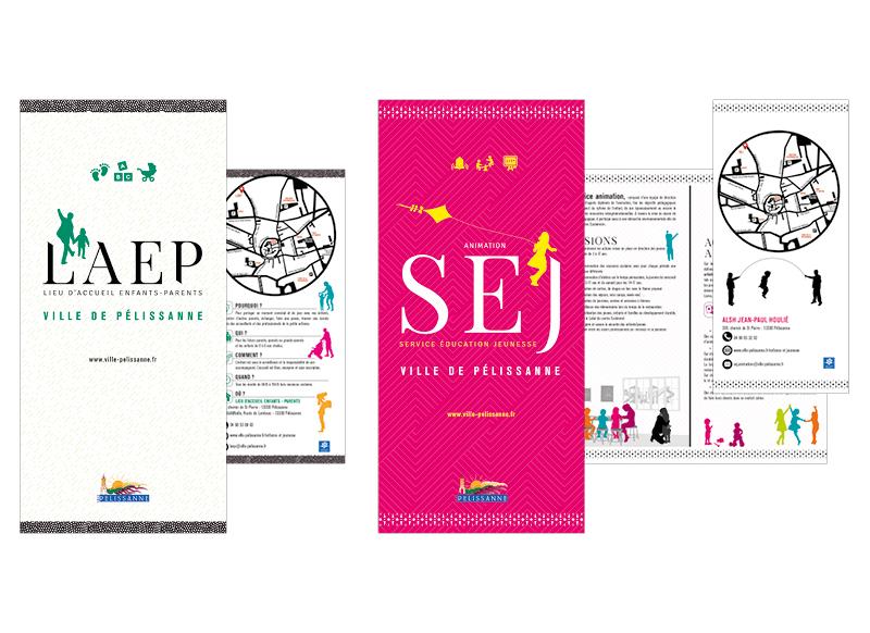 Pelissanne Plaquette Des Services by Noon Graphic Design