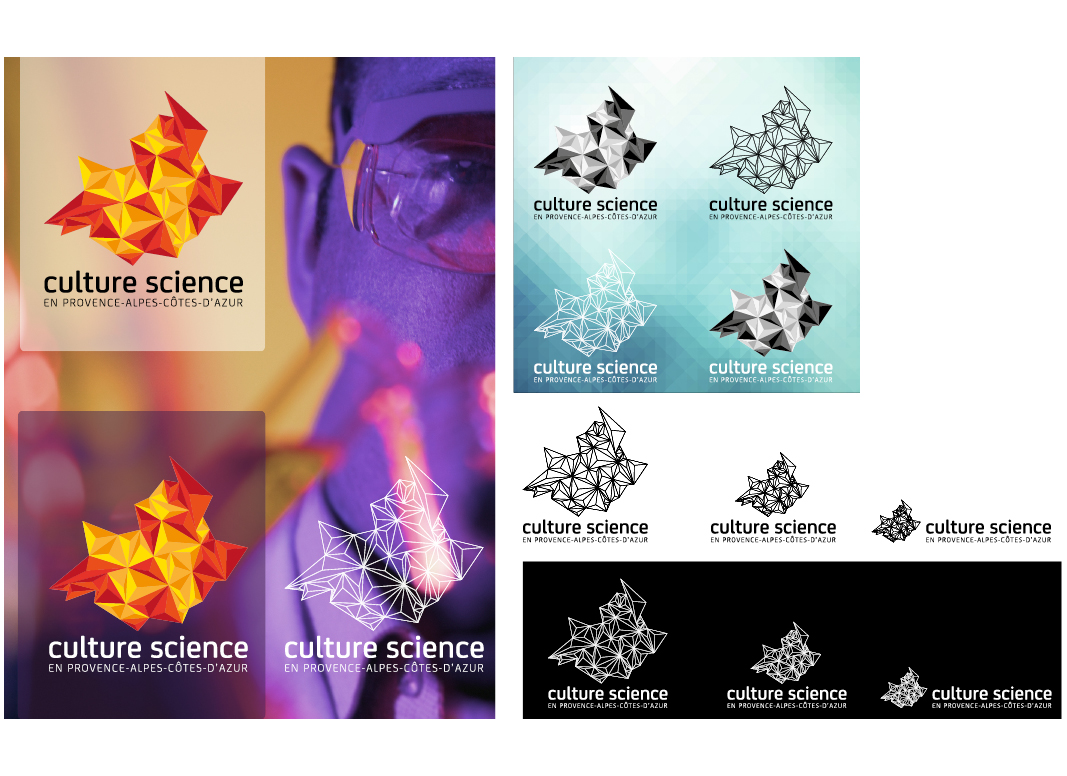 Culture Science PACA by NoonGraphicDesign