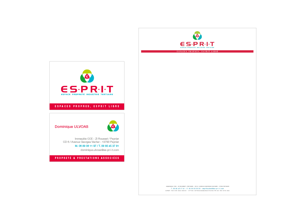 ESPRIT, identité visuelle by Noon Graphic Design