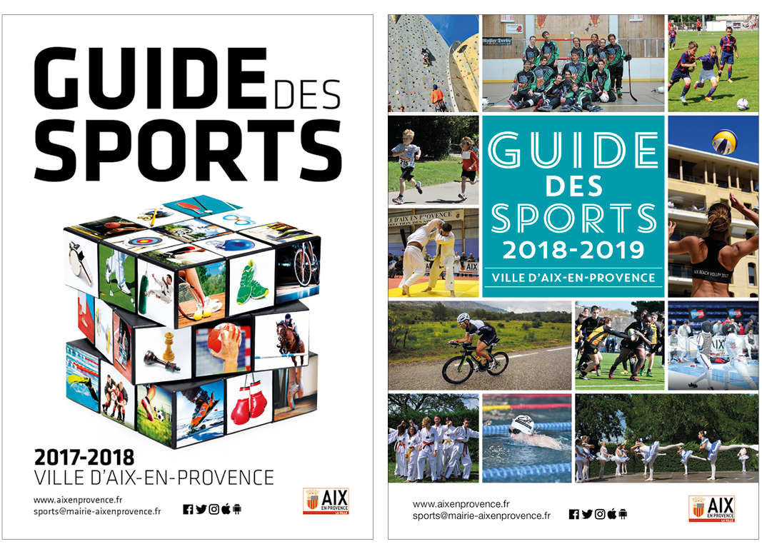 Guide Des Sports Aix En Provence by Noon Graphic Design1