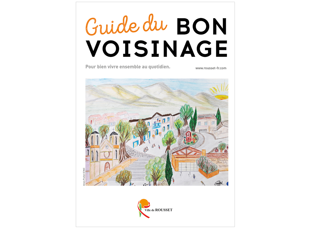 Guide Du Bon Voisinage de Rousset by Noon Graphic Design