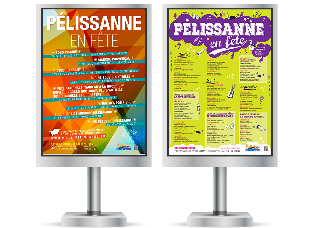 Pelissanne En Fete by Noon Graphic Design