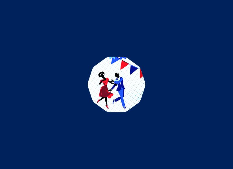 Repas Republicain à Pélissanne by Noon Graphic Design