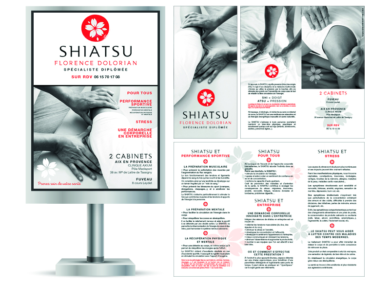 Shiatsu by Noon Graphic Design