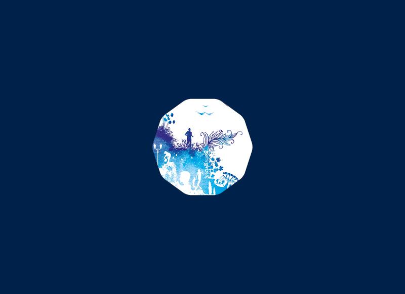 Campagne de voeux 2017 pour la ville de Pélissanne by Noon Graphic Design