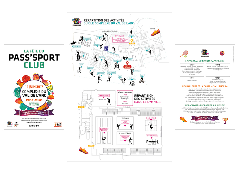 Guide des Sports/PassSport Aix en Provence 2017 by NoonGraphicDesign