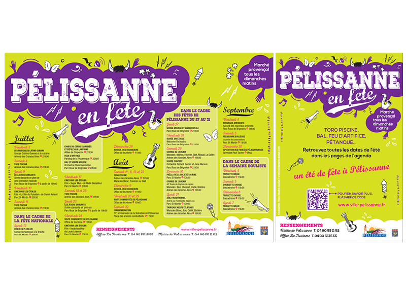 Pélissanne En Fête 2014 by Noon Graphic Design