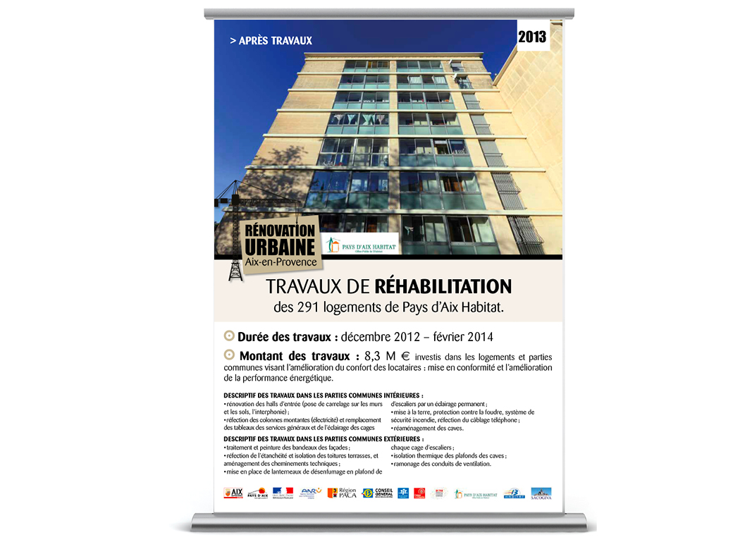 Renovation Urbaine by Noon Graphic Design