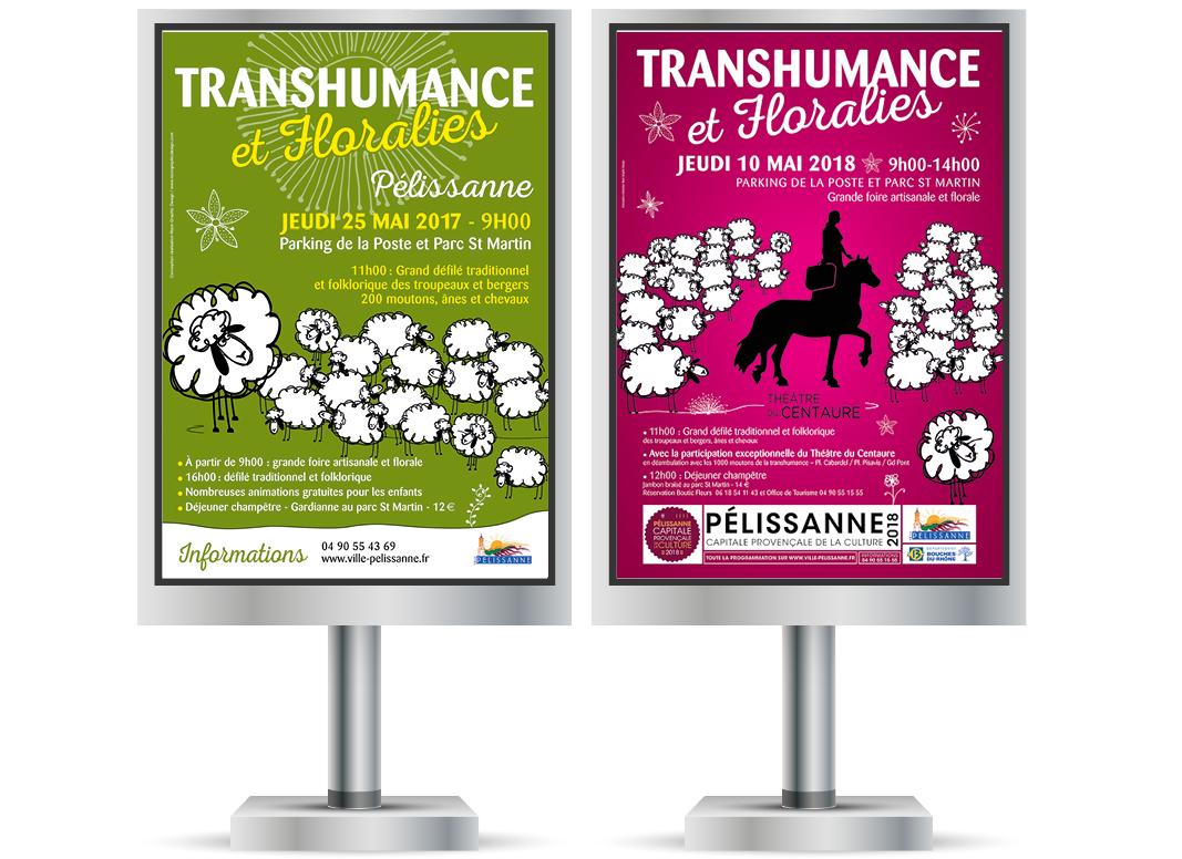 Transhumance Et Floralies Pélissanne By Noon Graphic Design