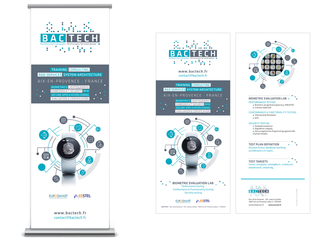 Bactech by Noon Graphic Design