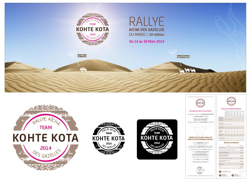 Identité visuelle KohteKota by Noon Graphic Design