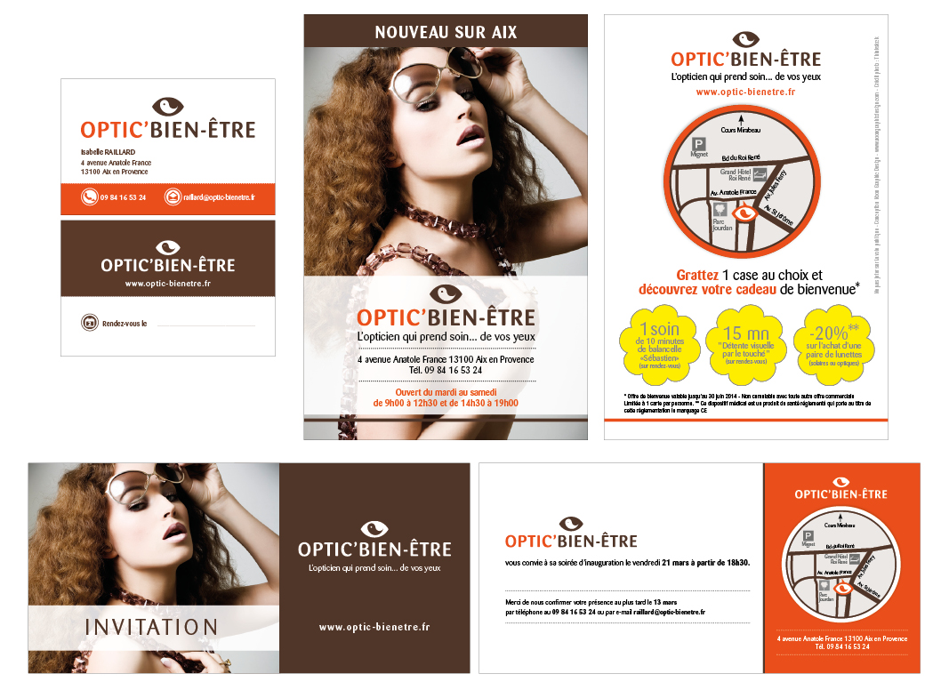 OpticBienEtre by Noon Graphic Design