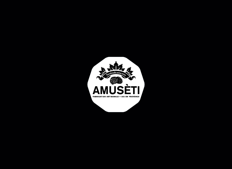 Amuseti Aix En Provence by Noon Graphic Design